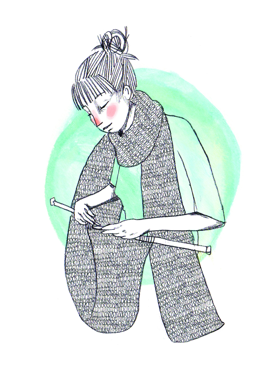it�s knit just for grannies buzz